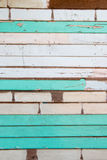 Mix wooden wall Stock Photography