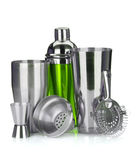Mixbecher, Sieb, messendes Cup Lizenzfreie Stockfotografie