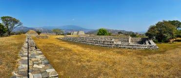 Mixco Viejo - het Plein van de Groep B Royalty-vrije Stock Afbeeldingen