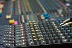 MixControl Foto de Stock Royalty Free