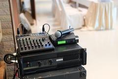 Mixe audio foto de stock