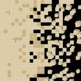 Background in kaleidoscope pattern stock image