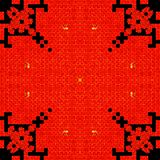 Background in kaleidoscope pattern royalty free stock images