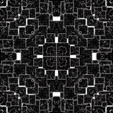 Background in kaleidoscope pattern stock photo