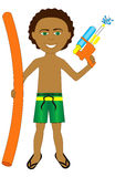 Mixed Afro Boy Royalty Free Stock Images