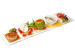 Mixed appetizer Stock Photo