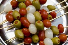Mixed appetizer Royalty Free Stock Photography