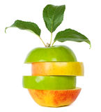 Mixed apple Stock Image