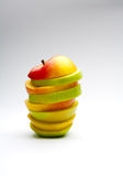 Mixed apple Royalty Free Stock Photography