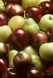 Mixed Apples and Bartlet Pears Stock Images
