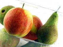 Mixed Apples and Pears Stock Photography
