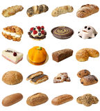 Mixed Bakery Assortment Stock Photo