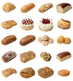 Mixed Bakery Selection Stock Image