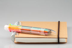 Mixed ball pen Royalty Free Stock Photo