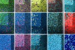 Mixed beads Stock Photos