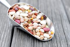 Mixed bean Royalty Free Stock Images