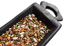 Mixed beans. Royalty Free Stock Images