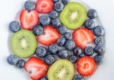 Mixed berries Royalty Free Stock Photos