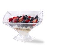 Mixed Berries Parfait Royalty Free Stock Photo