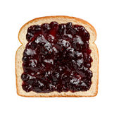 Mixed Berries Preserves on Bread Stock Photos