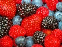 Mixed Berries Stock Photo