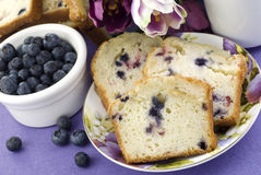 Mixed Berry Bread Stock Images
