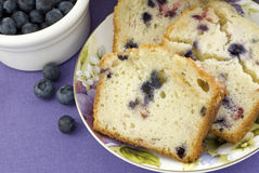 Mixed Berry Bread Closeup Royalty Free Stock Images