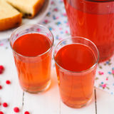 Mixed Berry Drink (Compot) Stock Photography