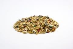 Mixed bird food Stock Photography