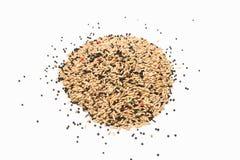 Mixed bird seed Royalty Free Stock Photos