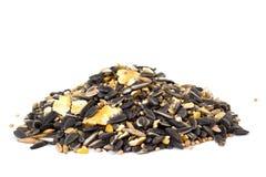 Mixed bird seeds Stock Photos