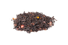Mixed black Truffle spicy tea isolated on white Royalty Free Stock Images