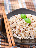 Mixed boiled rice Stock Photography