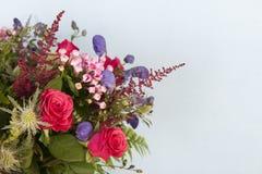 Mixed bouquet flowers Stock Photos