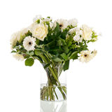 Mixed bouquet white flowers Royalty Free Stock Photography