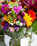 Mixed Bouquets Royalty Free Stock Photo