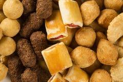 Mixed brazilian snack. Stock Image