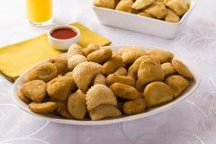 Mixed brazilian snack. Royalty Free Stock Image