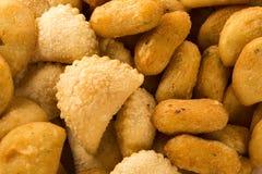 Mixed brazilian snack. Stock Photography