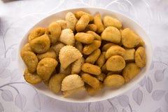 Mixed brazilian snack. Royalty Free Stock Photo