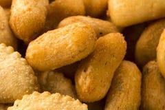 Mixed brazilian snack. Stock Photo