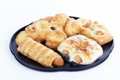 Mixed bread danish Royalty Free Stock Photography