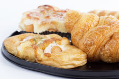 Mixed bread danish Royalty Free Stock Images
