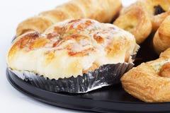Mixed bread danish Stock Photo