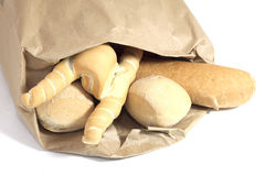 Mixed bread Royalty Free Stock Images
