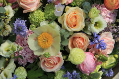 Mixed bridal arrangement Stock Photography