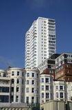 Mixed buildings styles. Brighton. England Stock Photography