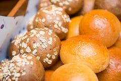 Mixed of bun bread Stock Photo