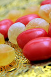 Mixed candies Stock Photos