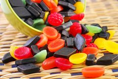 Mixed candies Royalty Free Stock Images
